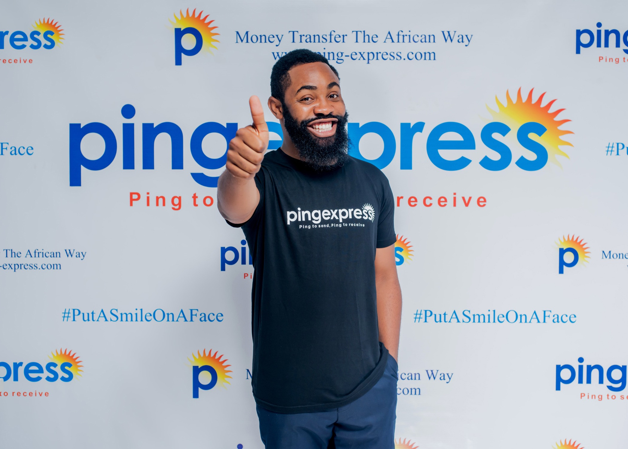 Actor/Comedian Woli Arole Becomes New Face of Ping Express