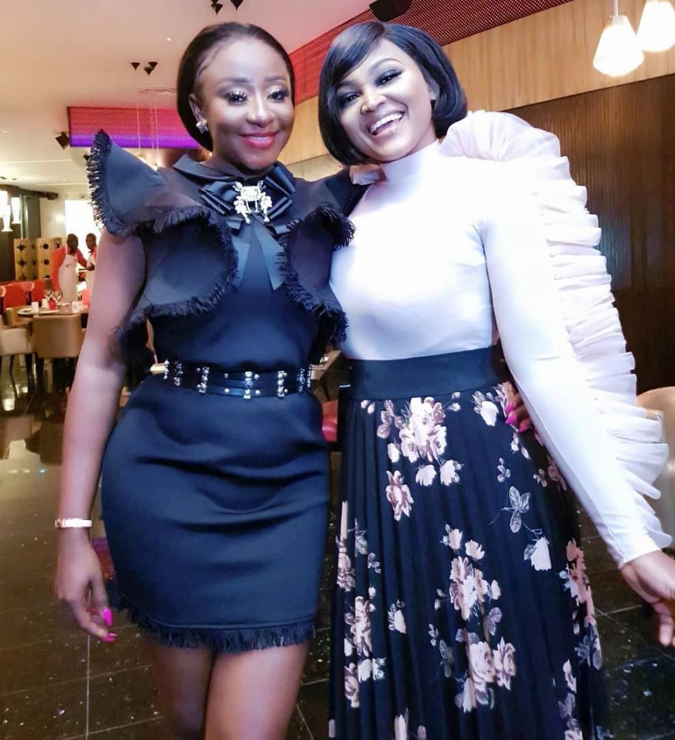 Photos: Toke Makinwa, Mercy Aigbe, Shaffy Bello, Linda Osifo, others attend Ini Edo