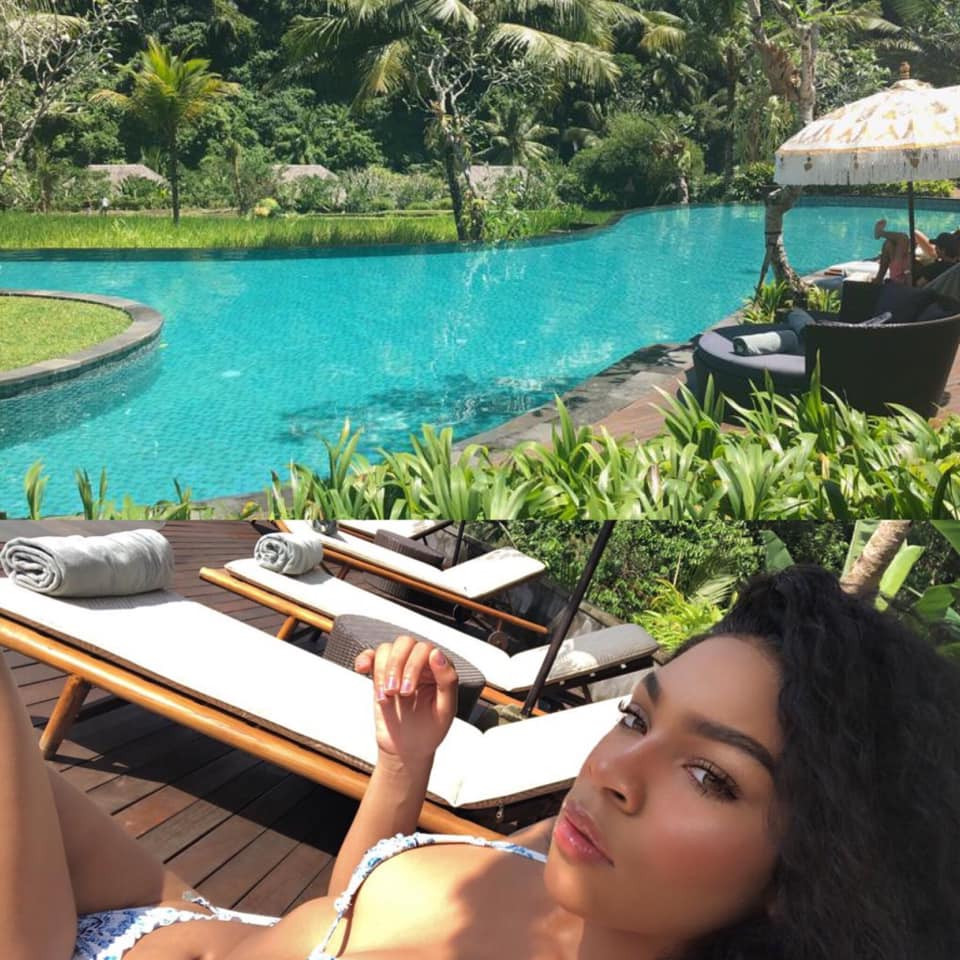 Regina Askia shares lovely photos of her look-alike daughter holidaying in Bali