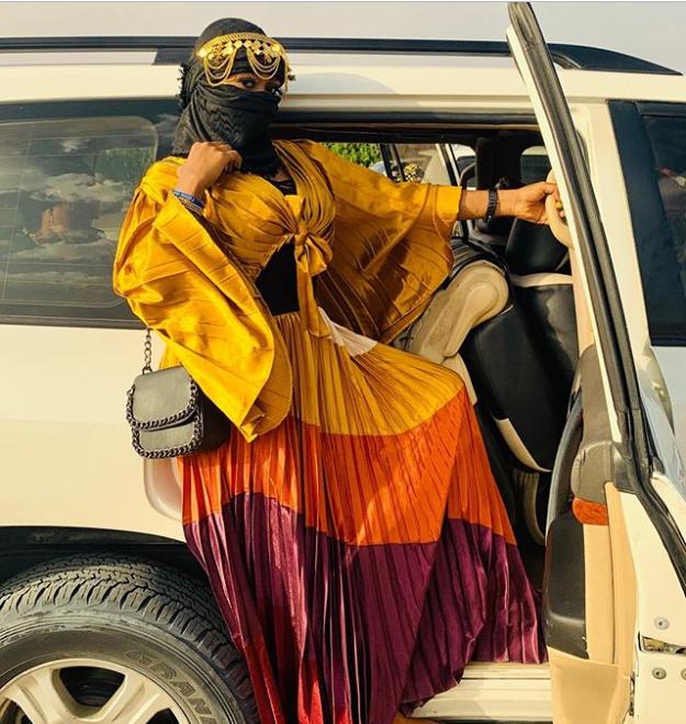 Alaafin Of Oyo Younger Wife, Olori Ajoke stuns in Arabian dress (Photos)