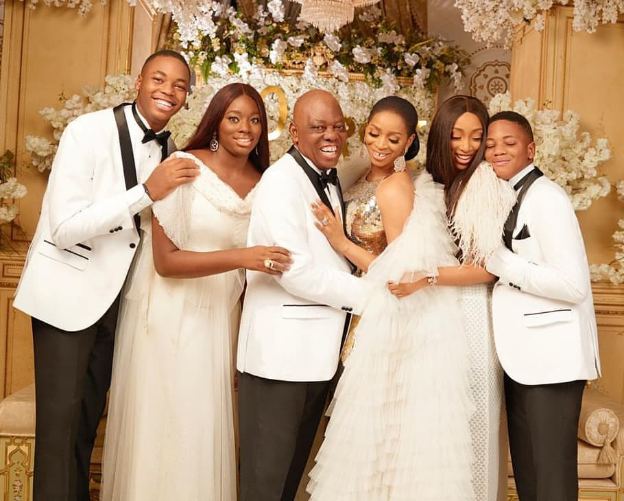Billionaire businessman, Rasaq Okoya and wife, Shade, celebrate 20th wedding anniversary with stunning new photos