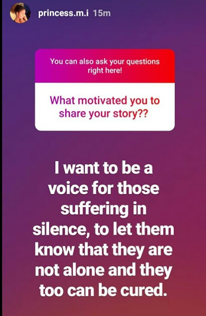 """I want to be a voice to those suffering in silence""- Billionaire Daughter, Meram Indimi opens up about her battle with Depression and Anxiety"