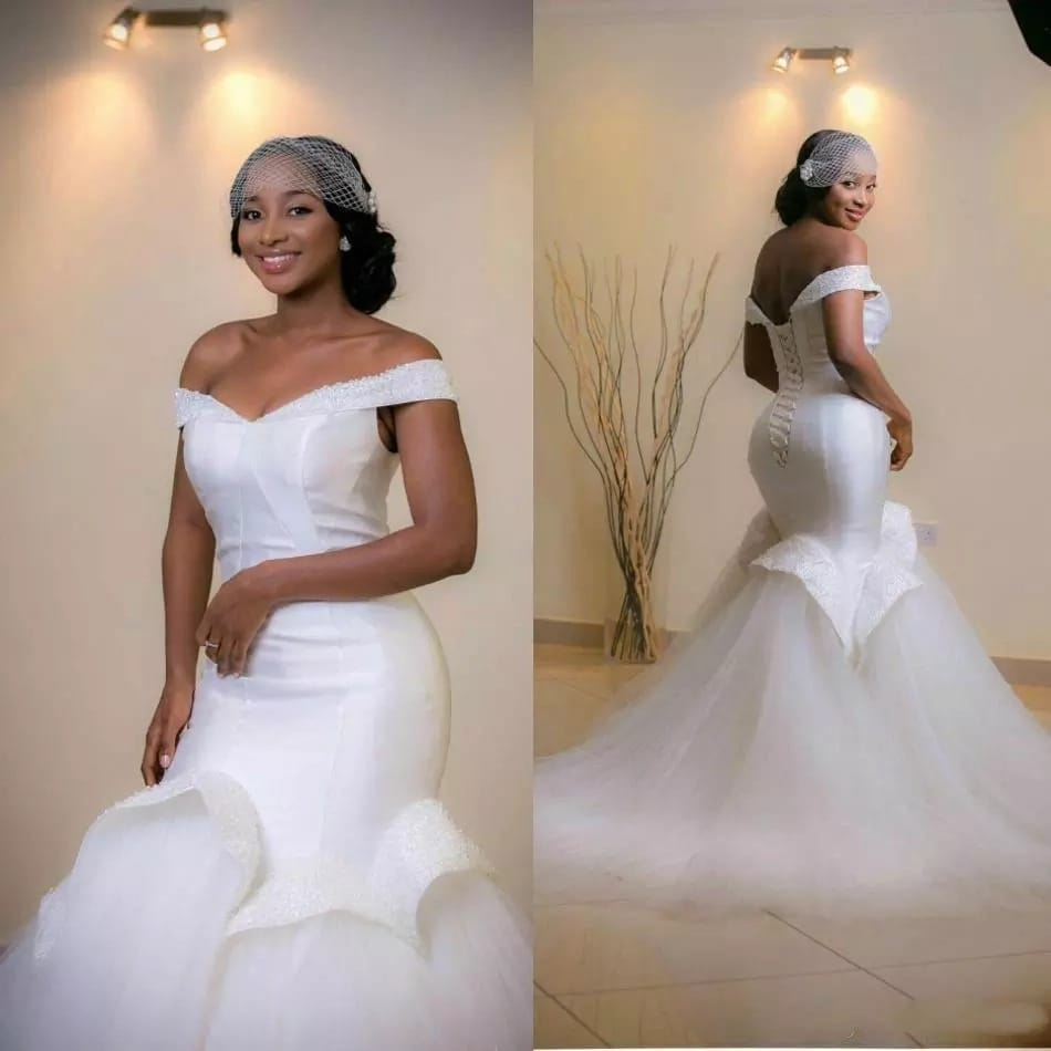 Latest Wedding Gowns In Nigeria: Latest And Trending Wedding Gowns In Nigeria 2017-2019