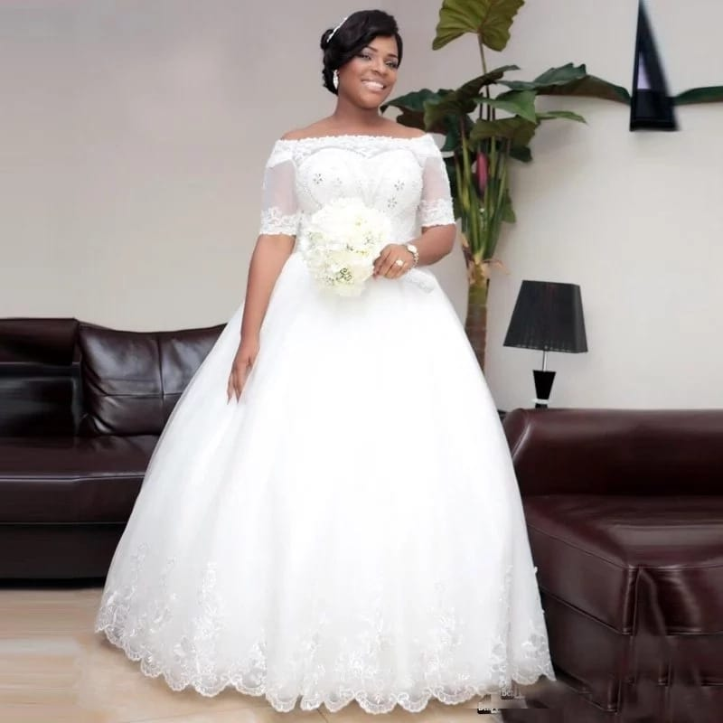 Latest And Trending Wedding Gowns In Nigeria 2017-2019