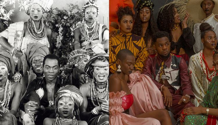 Patoranking Pays Tribute To Fela Kuti And His Kalakuta Queens In 'Lenge Lenge' | Watch!