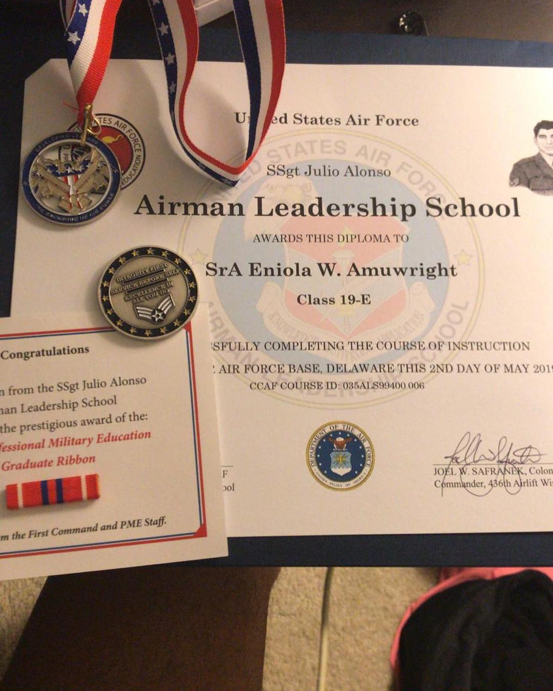 nollywood star bukky wright s son bags degree from united states air force photos 1 - Nollywood Actress Bukky Wright's Son Bags Degree From The United States Air Force