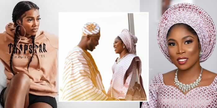 Lovely photos from Tiwa Savage's lookalike wedding