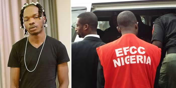 Image result for naira marley arrested by efcc