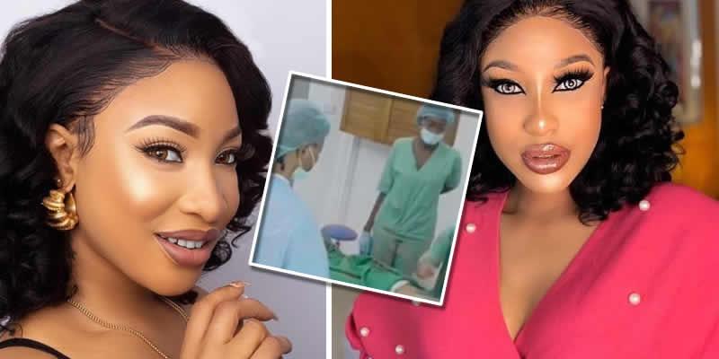 Tonto Dikeh to get another boobs surgery