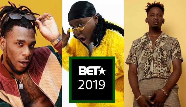 Burna Boy And Mr. Eazi Go Head-To-Head As Teni Battles Int'l Acts For 2019 BET Awards (Full Nominees List)