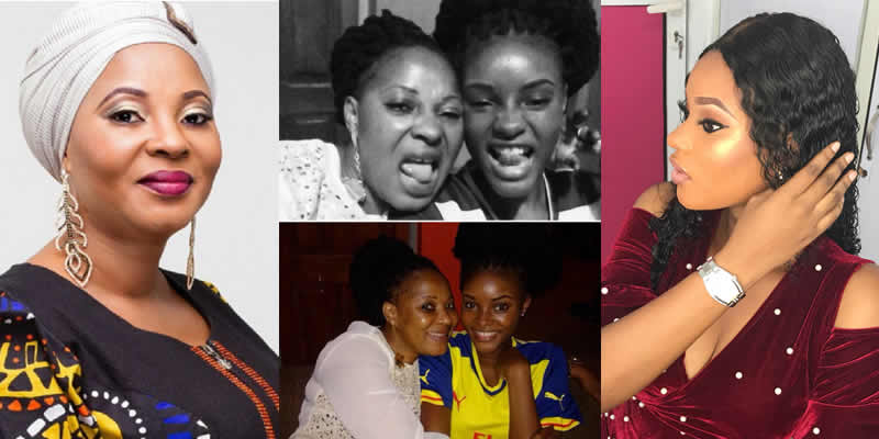 Image result for Moji Olaiya's daughter remembers her late mum two years after