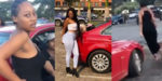 Wife tracks husband's side-chick, collect new car he bought for her (video)
