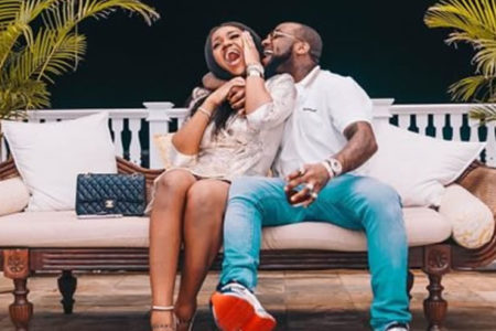 """Till Death Do Us Part"" – Davido Sends Romantic Message With Flowers To Chioma From Rome (Photo)"