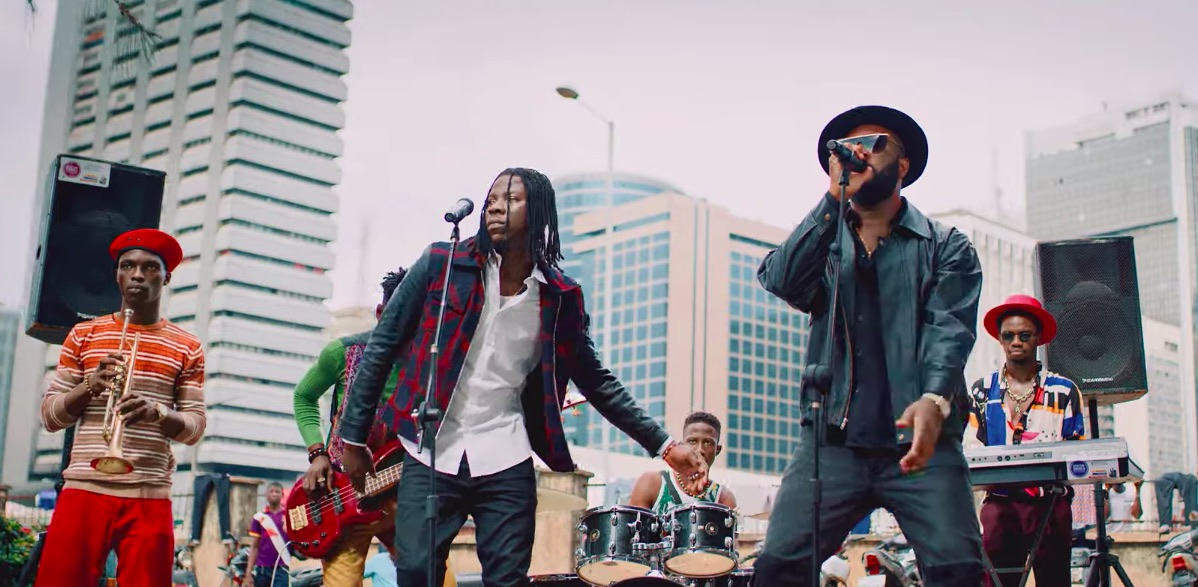 Praiz Drops Inspiring Video For 'Hustle' Featuring Ghanaian Sensation, Stonebwoy