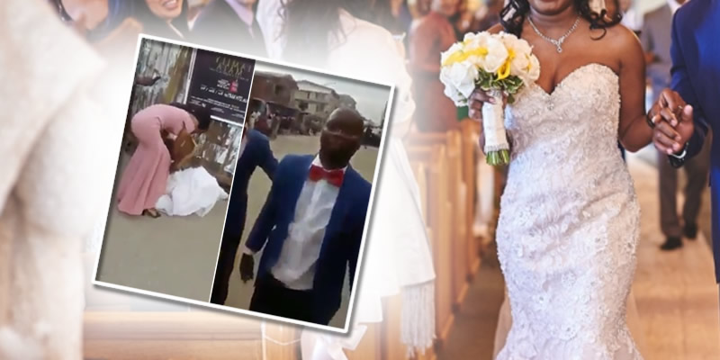 Nigerian man dump his bride on wedding day