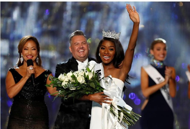 History made as black women win Miss USA, Miss Teen USA, and Miss America