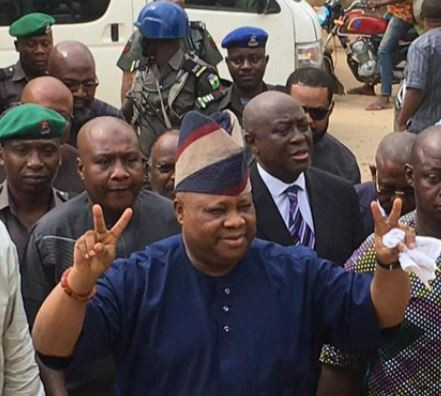 Senator?Adeleke all smiles as court grants him 2M bail and case is adjourned till June 24th