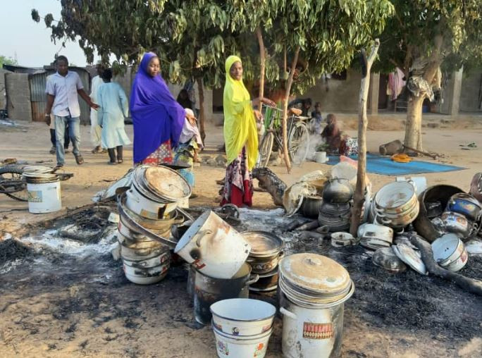 Photos: Boko Haram kill 4 soldiers, 6 others In late night attack in Maiduguri