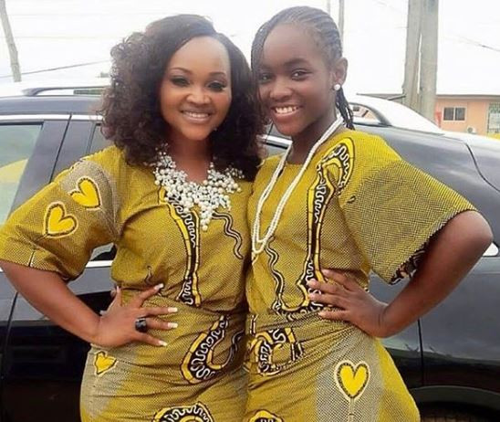 #MothersDay:?Mercy Aigbe celebrates herself for playing the role of father and mother to her kids for the past 18-years