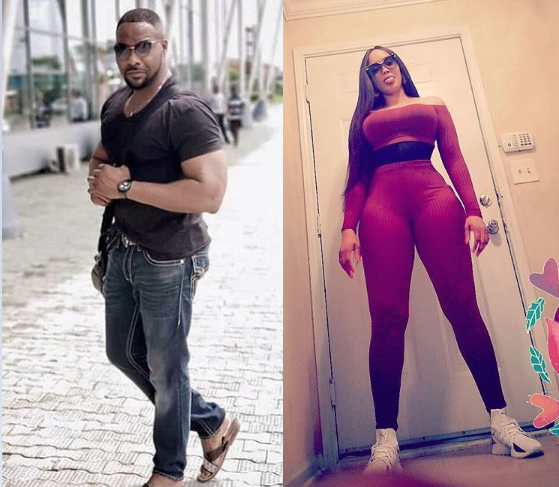 """If she was there when you were Nothing, Never loose her"" Actor Ninalowo says as he shares throwback photo of him and his wife"