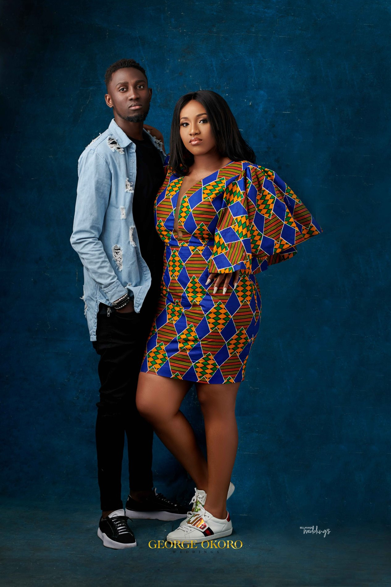 Check out stunning pre-wedding photos of Super Eagles star Wilfred Ndidi and his lover, Dinma