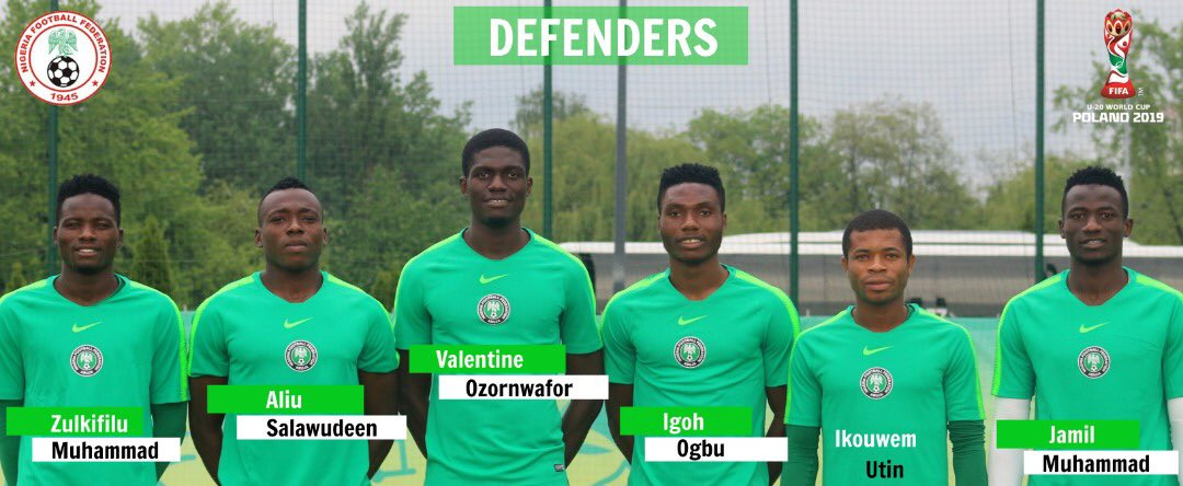 Here are the Flying Eagles stars representing Nigeria at the 2019 FIFA U-20 World Cup in Poland (Photos)