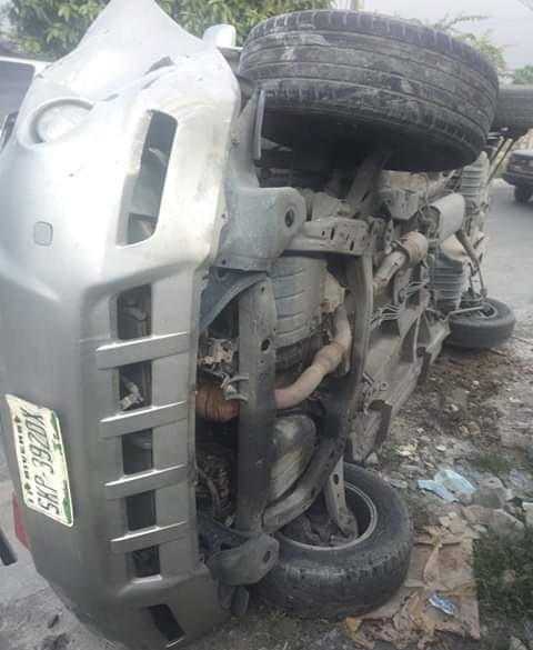 Photos: Nigerian man survives accident hours after dreaming of someone
