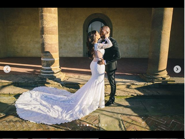 Kim Kardashian shares beautiful wedding photos on 5-Year Anniversary with Kanye West