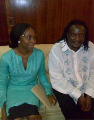 """I am struggling to stop crying,"" Chimamanda Adichie mourns renowned Kenyan author, Binyavanga Wainaina (photos)"