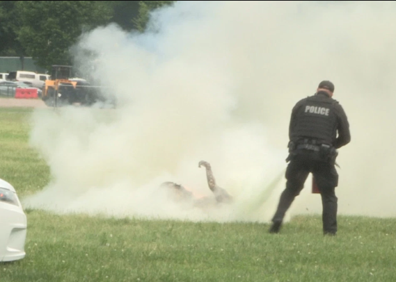 Update: Man who set himself on fire on the White House lawn dies in hospital
