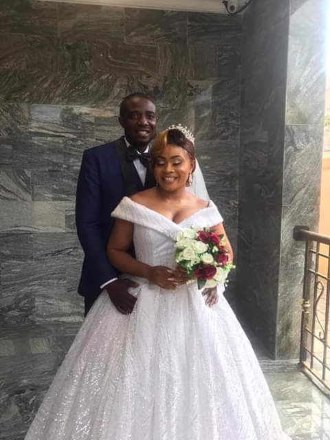 """""""When you feel the world is spinning against you remember my story""""- Nigerian single mother writes as she weds 12 years after the birth of her daughter"""