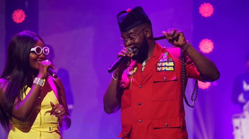 Falz Experience 2: Sola Sobowale, Seyi Shay, Simi, Tobi Bakre, Niniola And More Thrill Fans (FIRST PHOTOS)