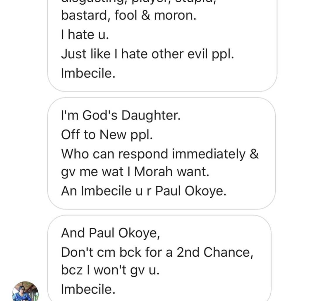 Paul Okoye Gets Death Threat From Kenyan Lady Over Delayed Response