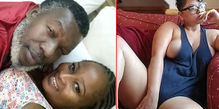 Nigerian women are certainly not buying the idea wife of Nollywood actor, Ejike Asiegbu, Oge, is proferring on how to stop a husband from cheating.  Oge shared the photo above on the right on her IG page with the caption