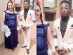 Yahoo sweet, but being real and legit pass — Excited Nigerian man says as white fiancee pays his groom price in Abia State