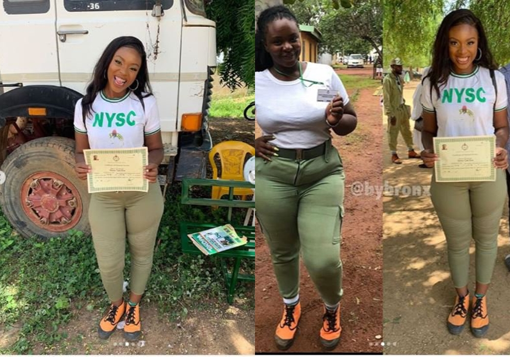 Shocking Body Transformation Of How A Lady Started Nysc Vs