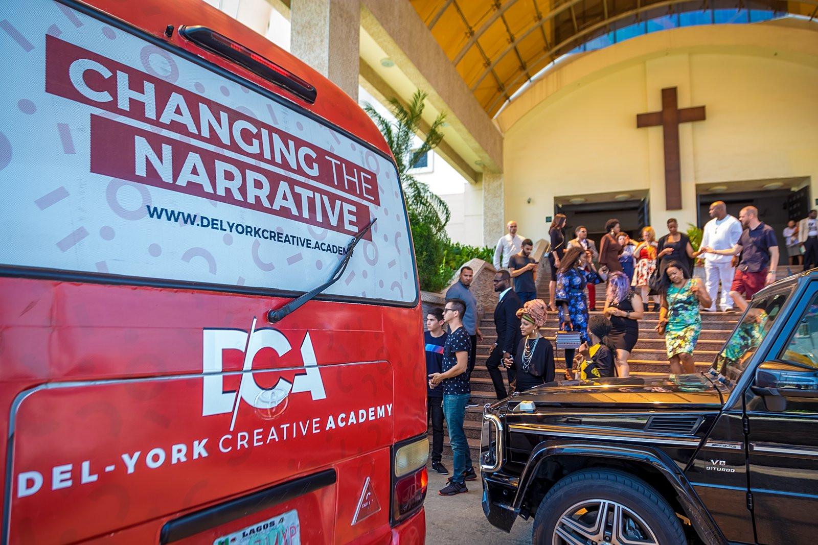 Pastor Paul Adefarasin hosts faculty of the Del-York Creative Academy