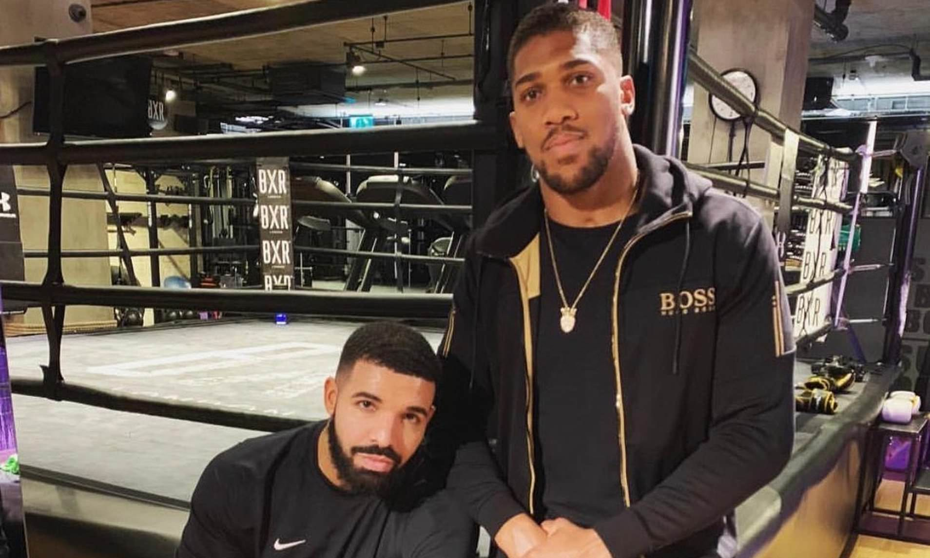 Anthony Joshua becomes the latest victim after posting picture with the Canadian rapper Drake