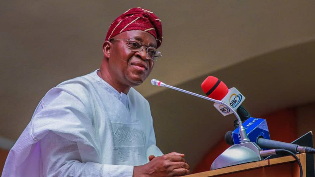 Image result for Cabinet List: No LG Will Be Marginalised, Says Gov Oyetola