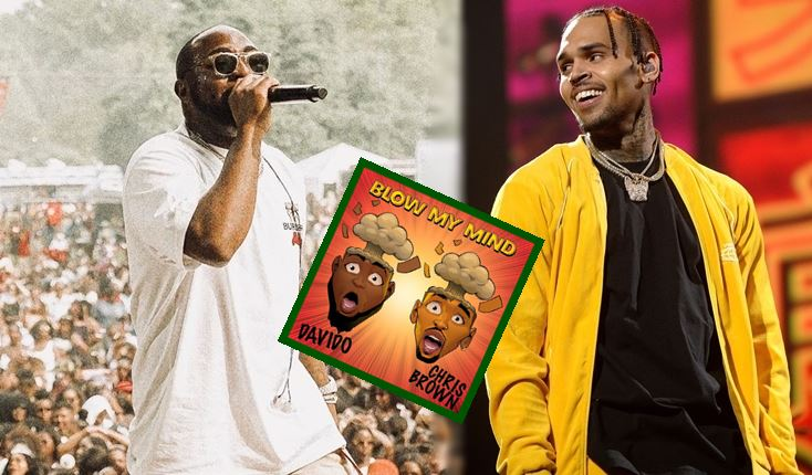 Blow My Mind: Davido, Chris Brown Cause Pandemonium On The Streets Of Social Media
