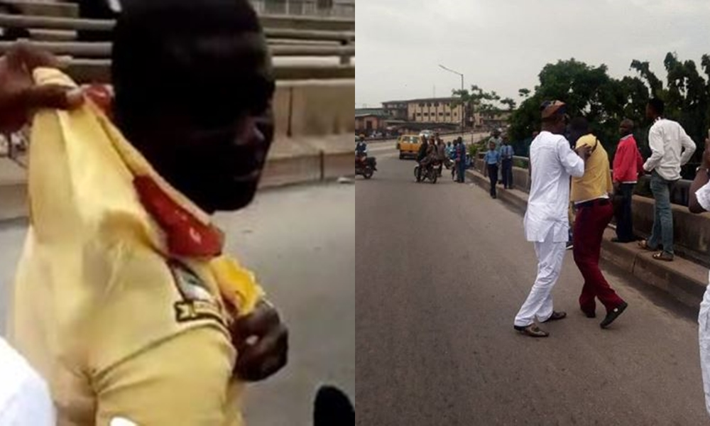 LASTMA Official Got In Trouble After Driving Against Traffic