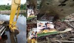 Couple's photo discovered inside 'Juju Bottle' during excavation in Rivers State (photos)