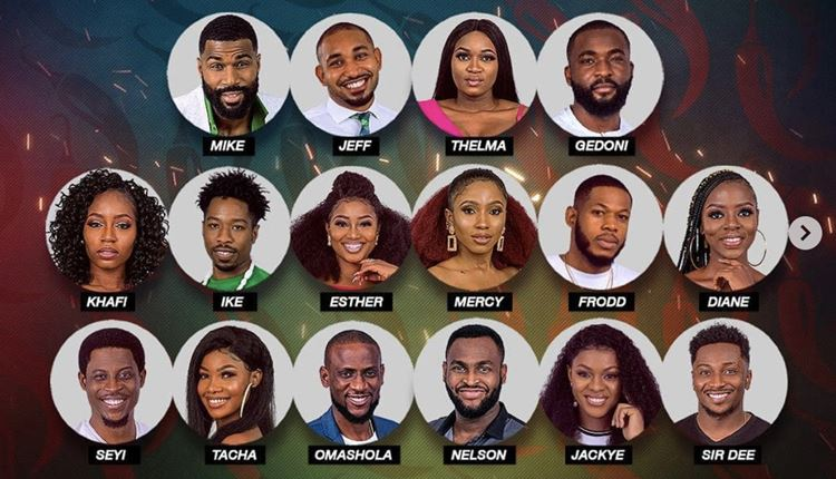 BBNAIJA PEPPER DEM: Big Brother Puts All Housemates Up For Eviction