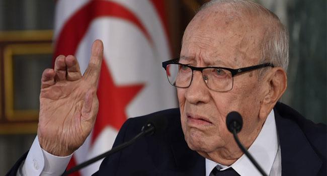 Tunisia's President dies aged 92