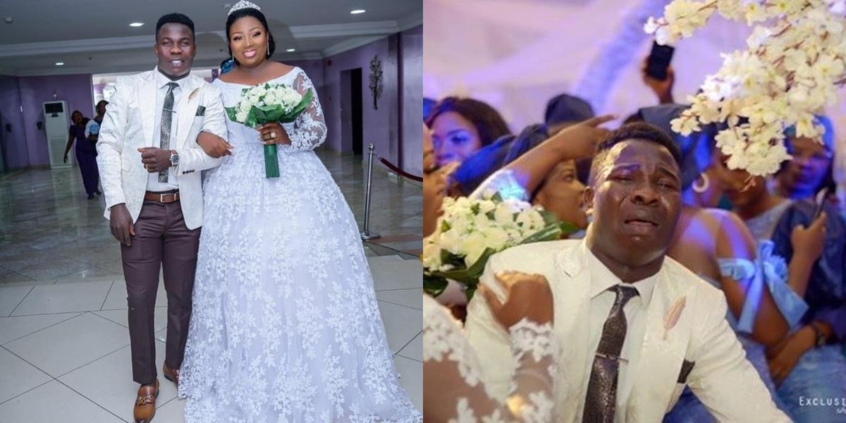 IG Comedian Dele Omo Woli In Joyful Tears As He Weds His Hearthrob (Photos)