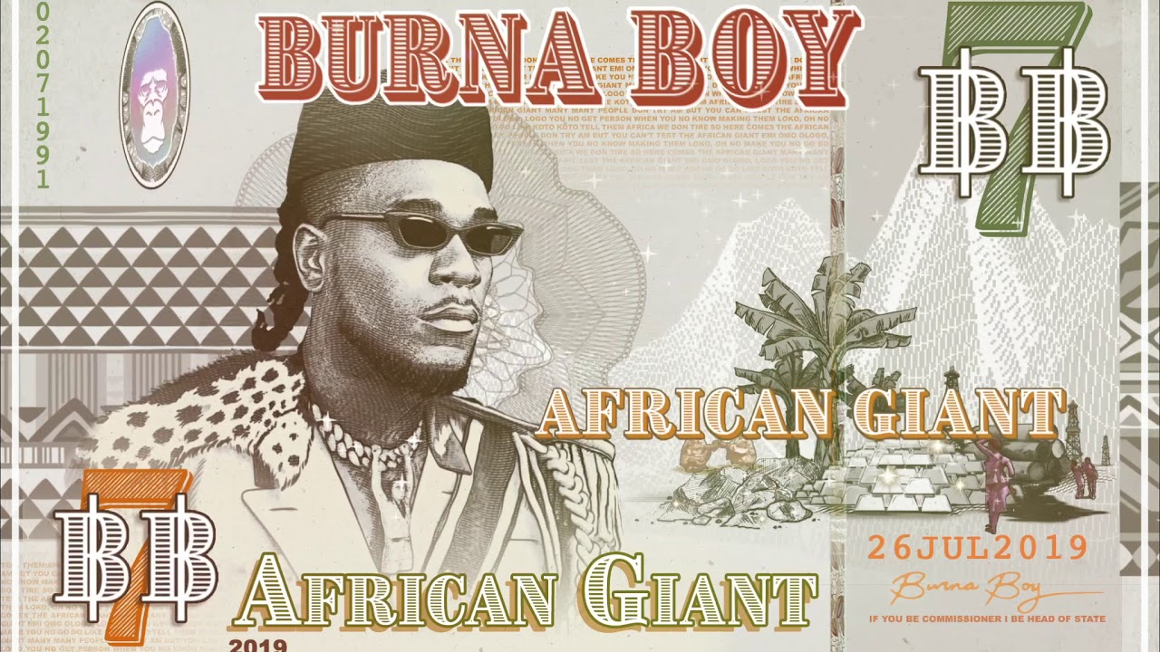Burna Boy Releases Groundbreaking 'African Giant' Album
