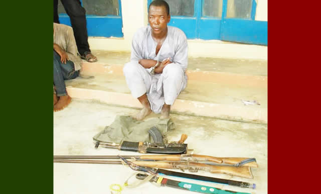 40-Year-Old Man arresed For Illegal Possession Of Firearms