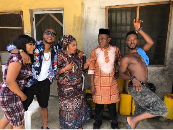 Ex-Bbnaija Housemate, Cee-c Makes Nollywood Debut Alongside Osuofia, Broda Shaggi In 'Fake Liars' (Photos)