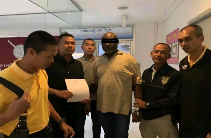 Wanted Nigerian Fraudster Arrested In Thailand As He Tries To Extend Visa