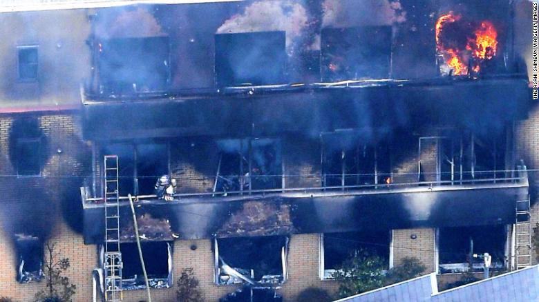 Kyoto Animation fire: Arson attack at Japan anime studio kills 33